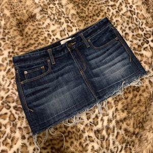 Abercrombie&Fitch Denim Mini Skirt